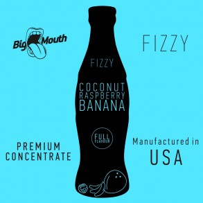 Big Mouth - Aroma FIZZY: Coconut/Raspberry/Banana, 10ml