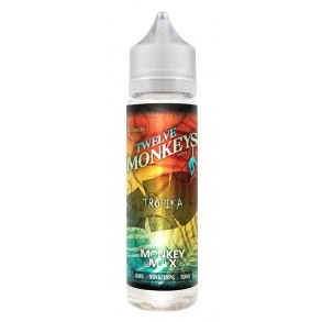 Twelve Monkeys - E-Liquid Tropika, Shortfill, 50ml