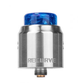 Wotofo - Recurve Dual RDA-Verdampfer Stainless Steel, Silber